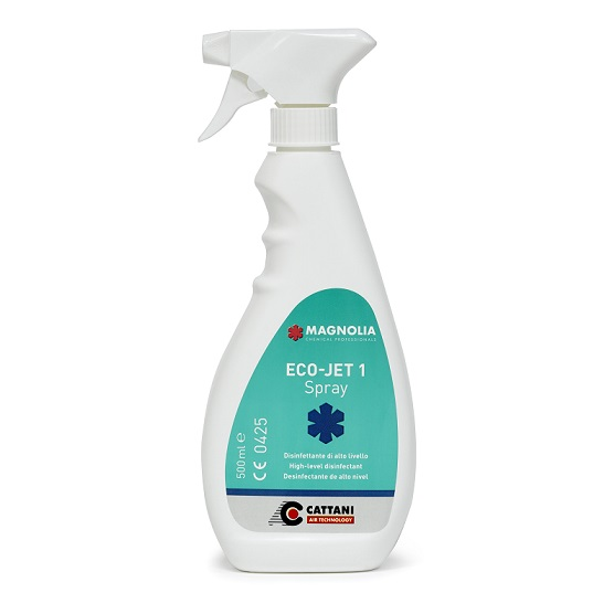 Eco-jet 1 spray desinfectante.